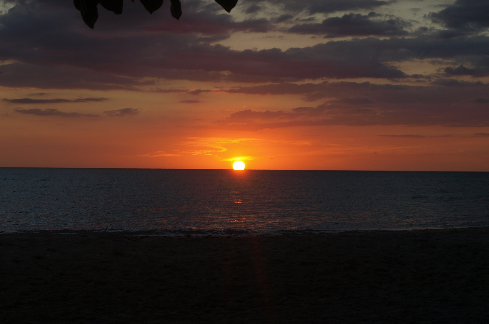 Sunset in Port Salut