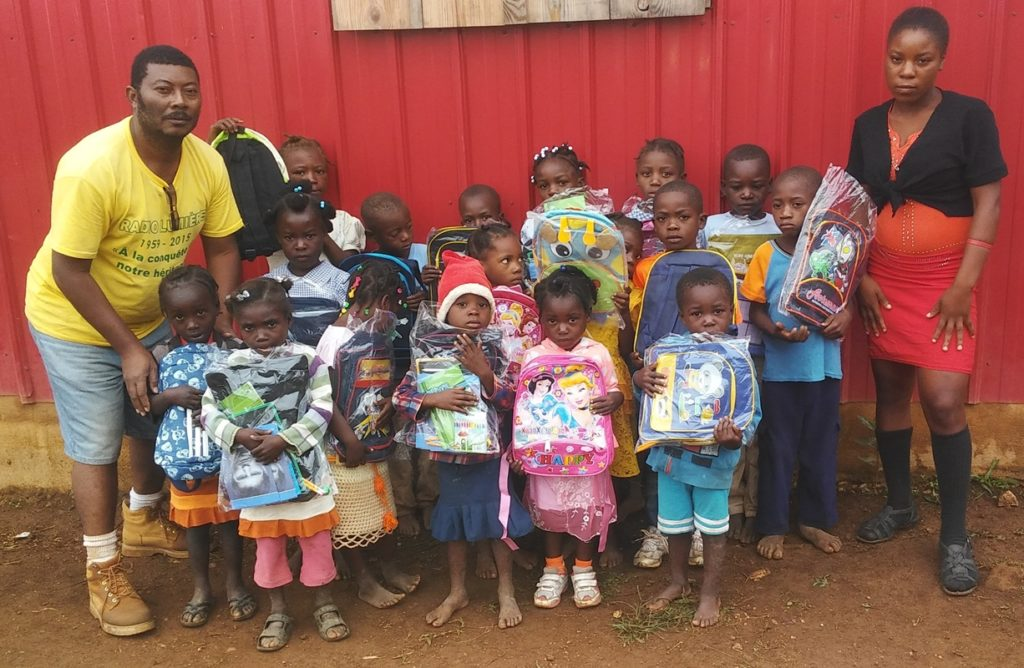 School kits in Delpeche, 2017
