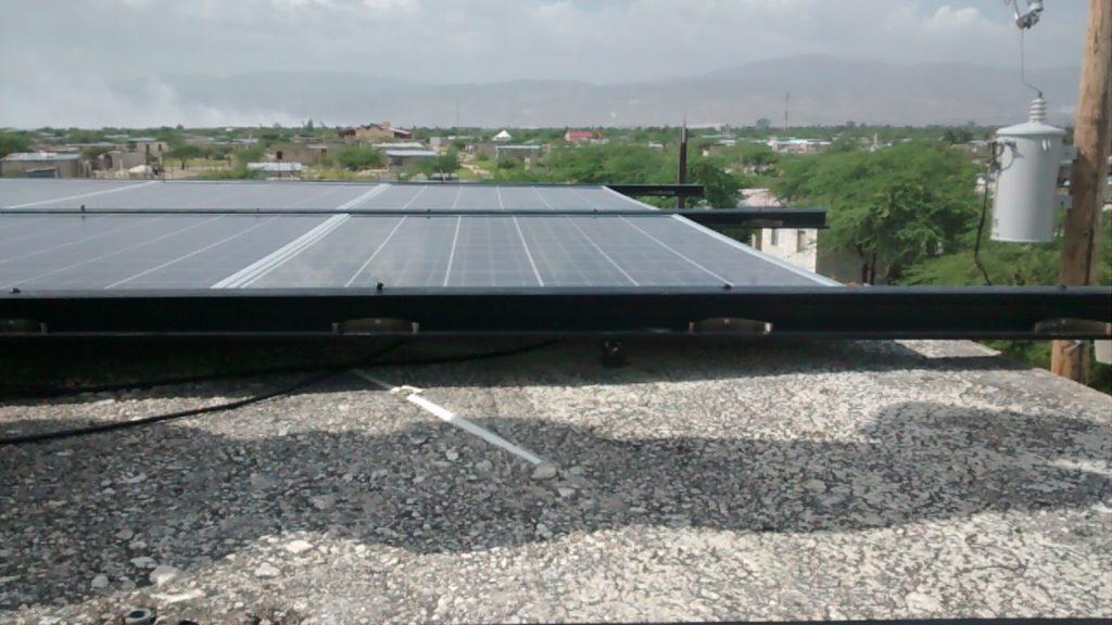 Solar install, Menelas, 2015