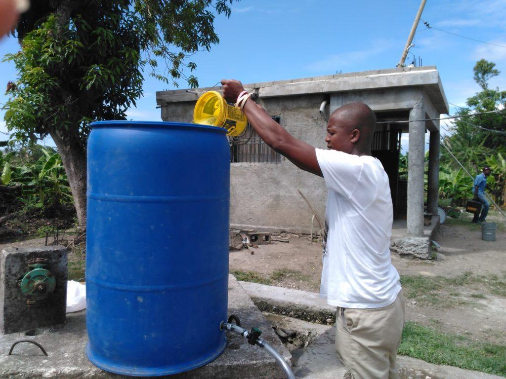 Water filter program, 2017