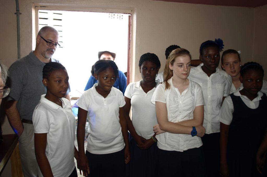 School students, Port-de-Paix, 2013