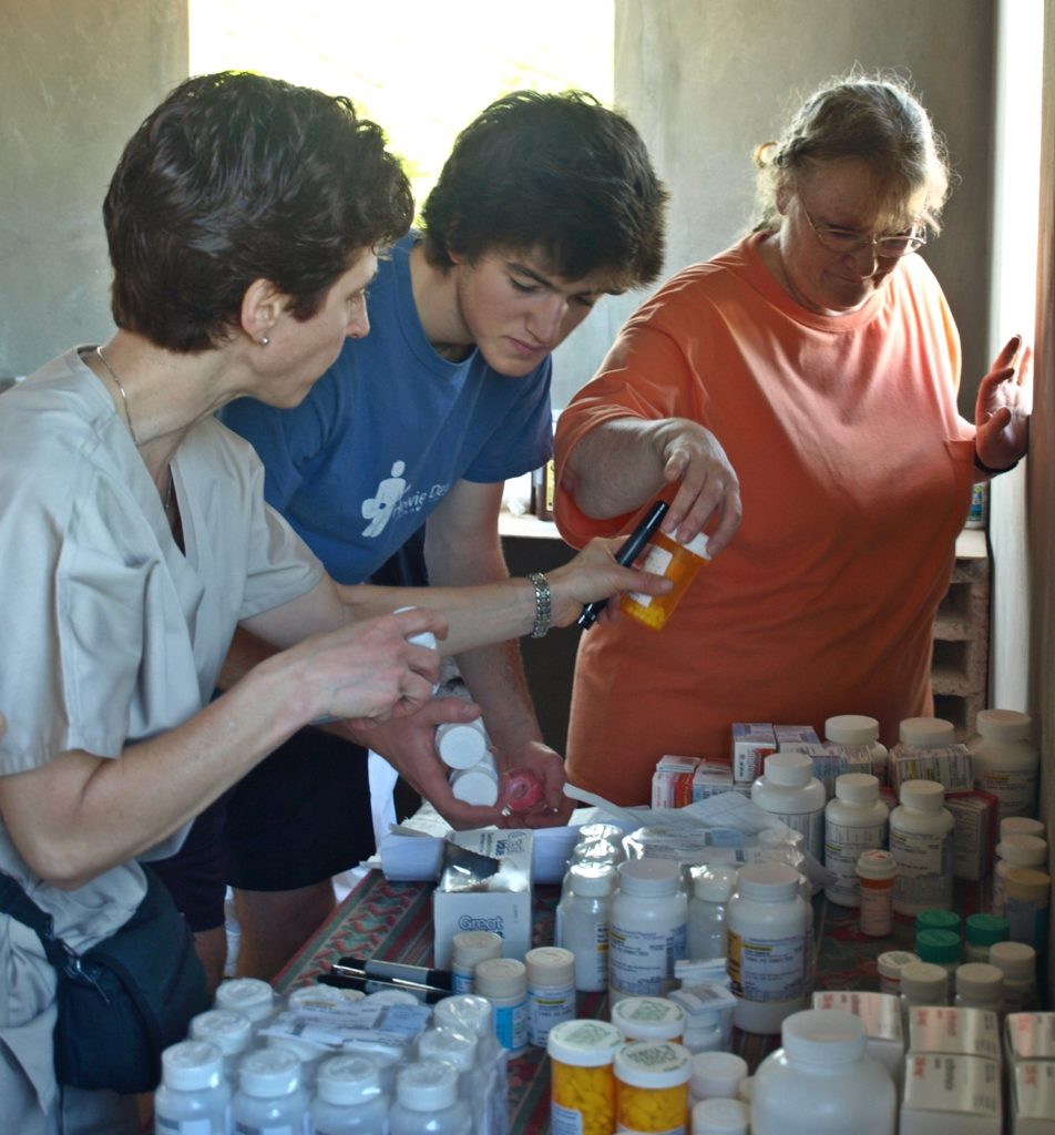 Medical team, Jacmel, 2011