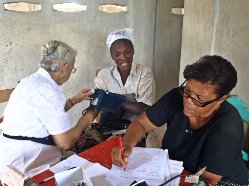 Medical team, Jacmel, 2011
