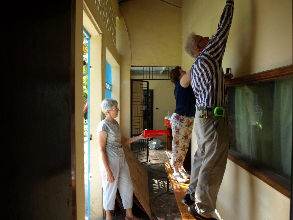 Cite Lumiere studio upgrade, Cayes, 2010