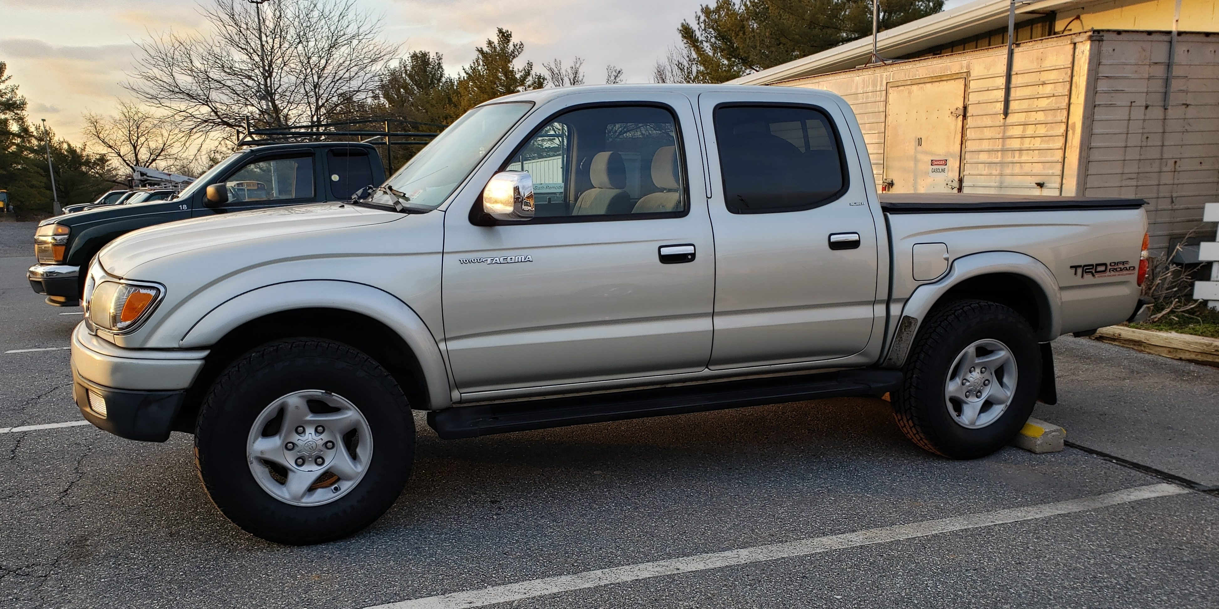 <i><strong>This is the 2003 Toyota Tacoma that is going to Haiti for Radio Lumiere.</strong></i>